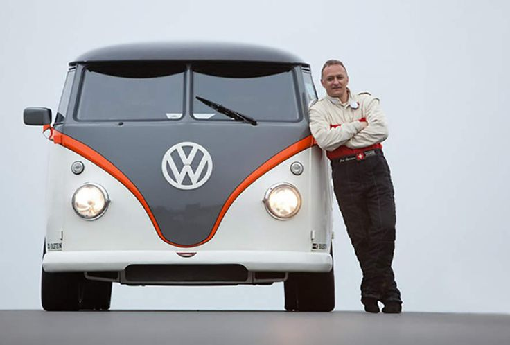 This VW Bus Has A Porsche 911 Engine Under The Hood
