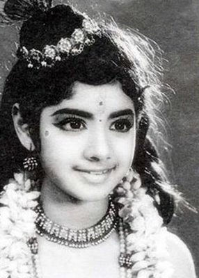 BwNewz: B'Day Special..Rare Childhood n Youngage Photos of Sridevi