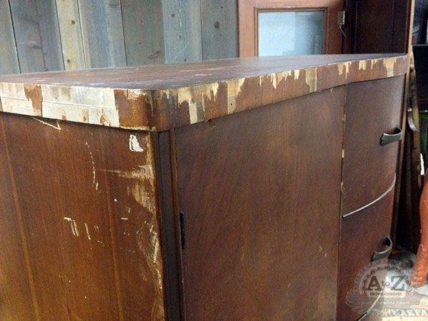 How to repair damaged veneer from atoz repair - 3 part video tutorial - 179  Best - How To Repair Veneer On Antique Furniture Antique Furniture