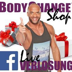 Feiert gemeinsam mit Detlef und uns den 2. Geburtstag unseres Shops! Tolle Preise gibt's heute bei uns auf Facebook im Livestream zu gewinnen. Beginn heute um 19 Uhr --> www.facebook.com/ BodyChange4WOWbodies  #BodyChange #Geburtstag #Shop #Verlosung #Gewinnspiel #Livestream #HappyBirthday #gesundabnehmen #wowbody #happyandhealthy #fitness #detlef #soost #instafit #healthychoices #abnehmen