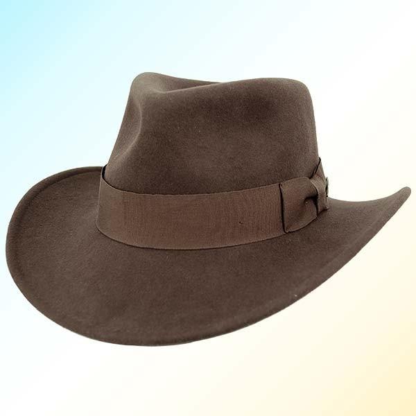 Todd's Costumes  - Crushable Indiana Jones Style Fedora, $39.95 (http://www.toddscostumes.com/costumes/movie-costumes-indiana-jones-costume/indiana-jones-hat/crushable-indiana-jones-style-fedora/)