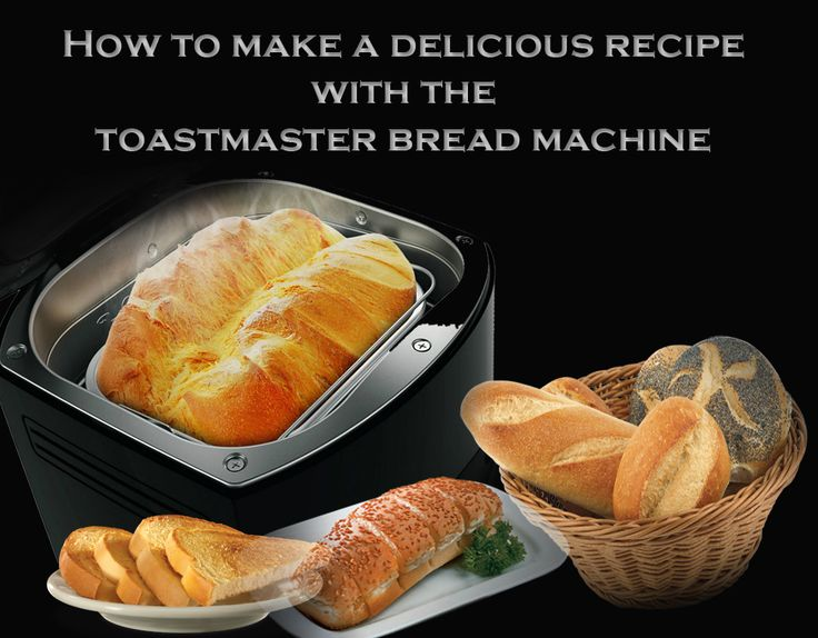 Toastmaster bread machine