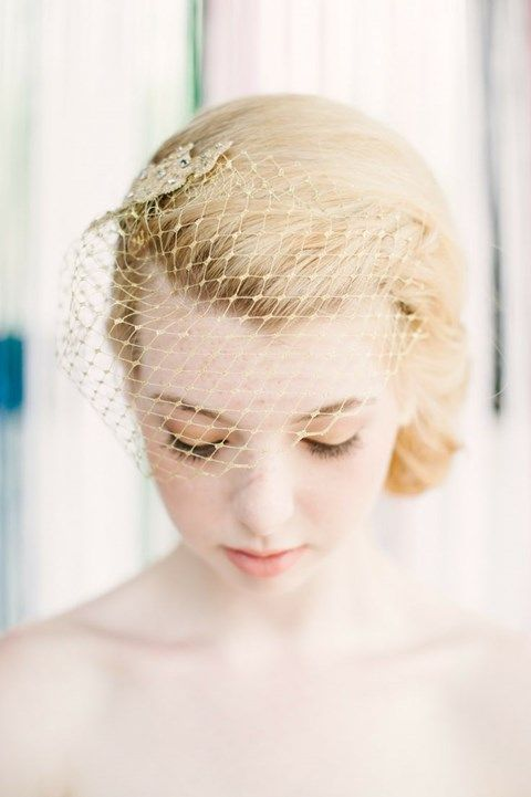 bridal hair styles for hair best 25 vintage birdcage veils ideas only on 4999