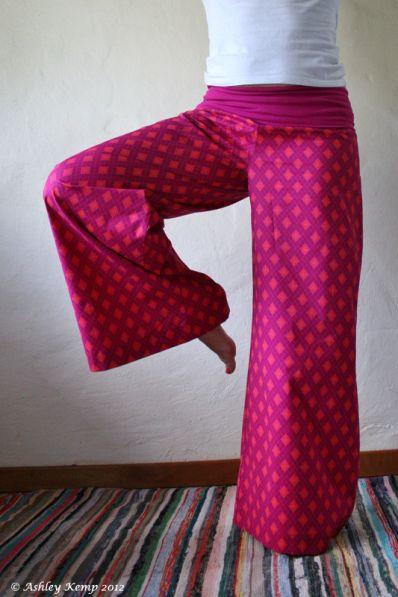 Shweshwe yoga pants on Etsy: http://www.etsy.com/shop/funkyBINTA