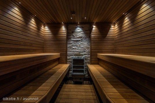 Myynnissä - Omakotitalo, Vanha Porvoo, Porvoo #sauna #kiuas #sisustus