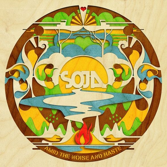 SOJA – Amid The Noise And Haste (Album Release)