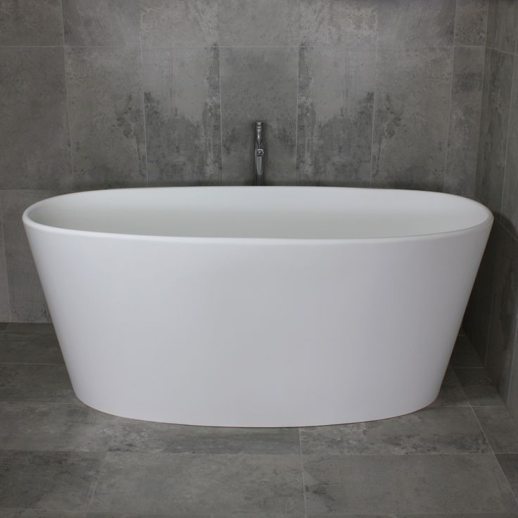Elissa Freestanding Stone Bath 1600mm