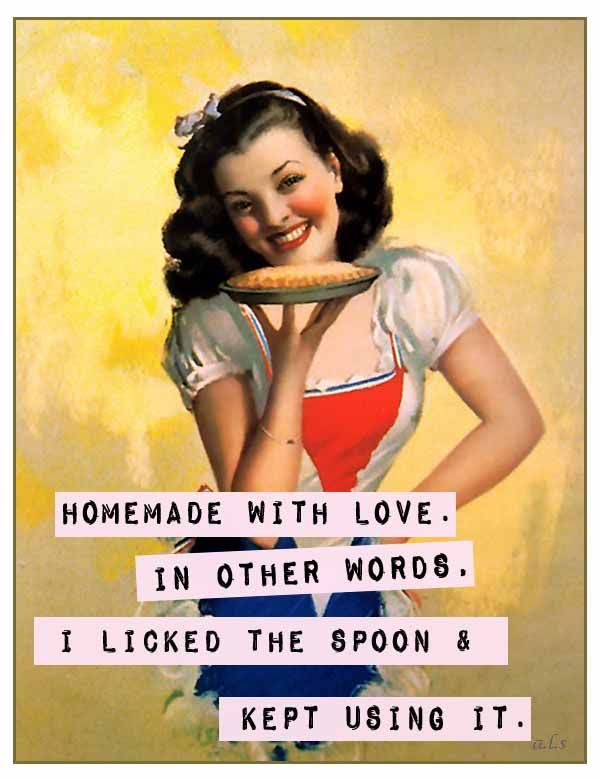 you'd better believe i'm licking the spoon....lol
