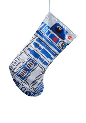 Kurt S. Adler Battery-Operated Star Wars R2d2 Stocking With Sound -  - One Size