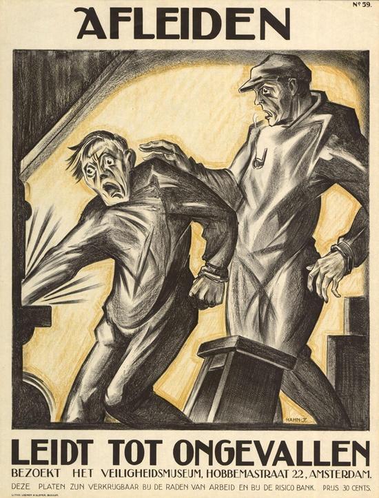 1927-1928, poster by Albert Hahn