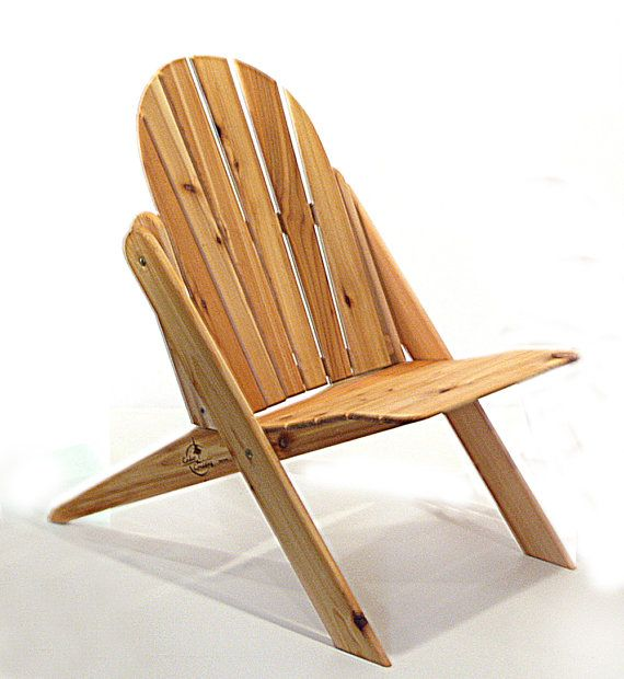 "The Ponder. Folding Cedar Adirondack Chair (Go to my store and click on ""make custom order"")."