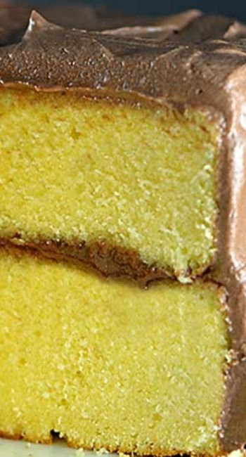 Classic Yellow Cake Recipe ~ Made of simple ingredients, this makes the best yellow cake for every occasion.