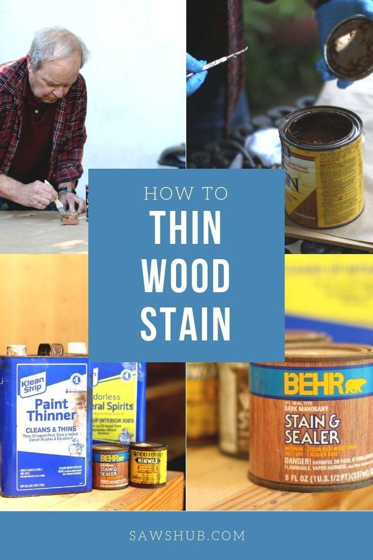 Wie Man Holzlasur Verdunnt Um Die Farbe Aufzuhellen Erfahren Sie