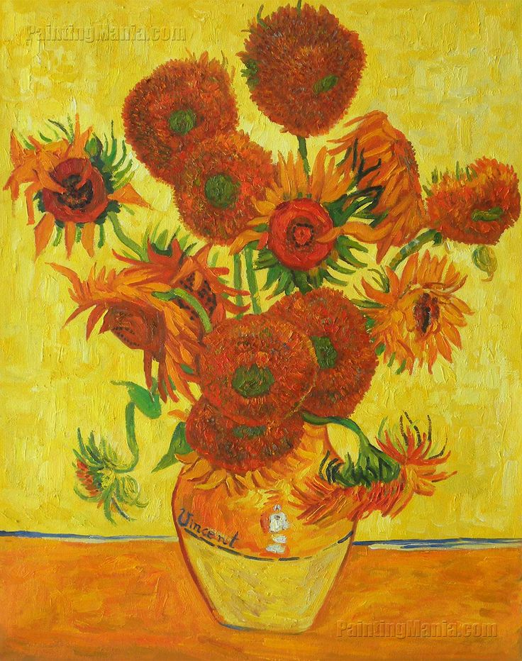 28 best images about Art - Sunflowers on Pinterest | Field of ...