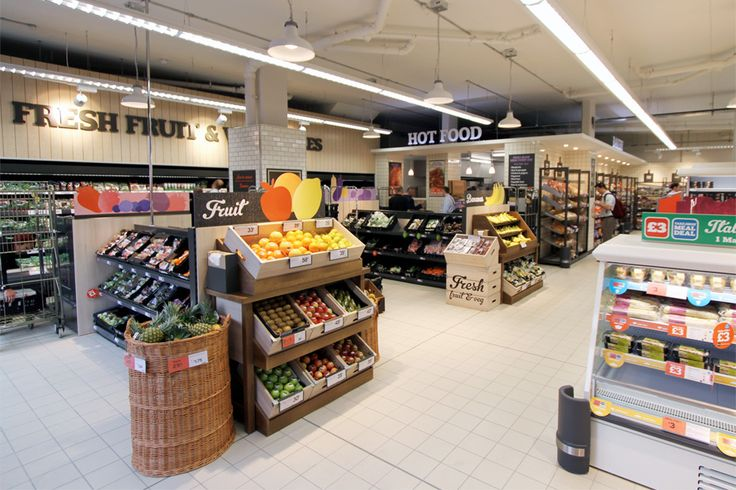 Convenience Store Design | Retail Design | Sainsbury's Earlsfield - Twelve Studio