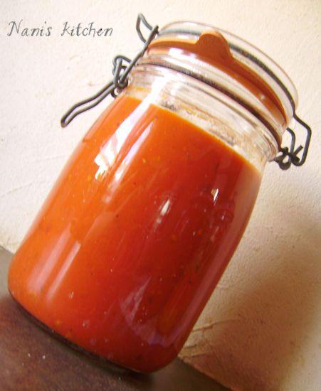 Les 17 meilleures id es de la cat gorie sauce tomate for Aubergines en conserve maison