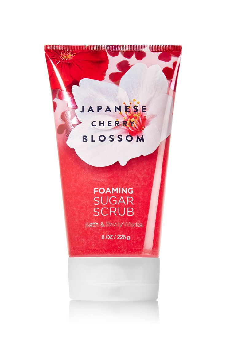 Health amp beauty gt bath amp body gt body lotions amp moisturizers - Japanese Cherry Blossom Foaming Sugar Scrub Signature Collection Bath Body Works