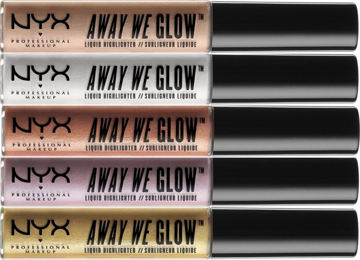 NYX Spring 2017 - NYX Away We Glow Liquid Highlighter (Available in 9 shades)