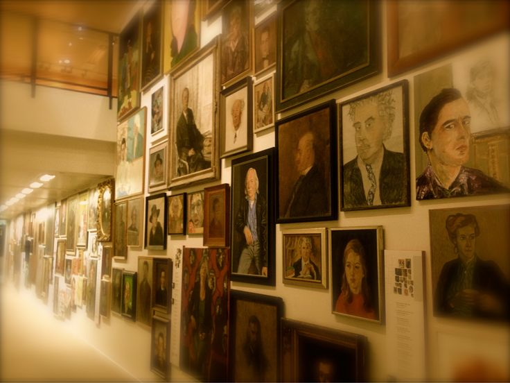 The Dutch museum of Literature in The Hague, the Netherlands