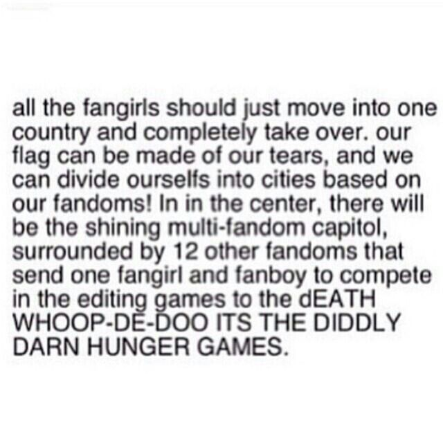 I would be in Percy Jackson.... Actually I have so many fandoms someone else will need to put me some where