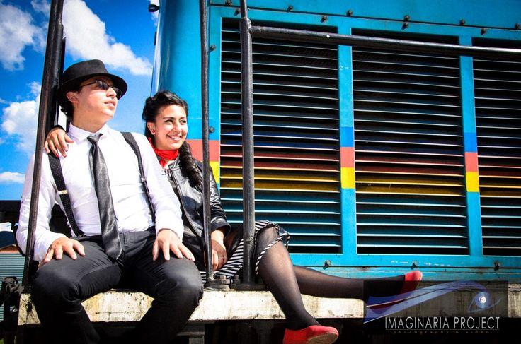 Unas fotos preboda al estilo #pinup www.imaginariaprojectwedding