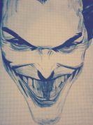 joker a esfero negro