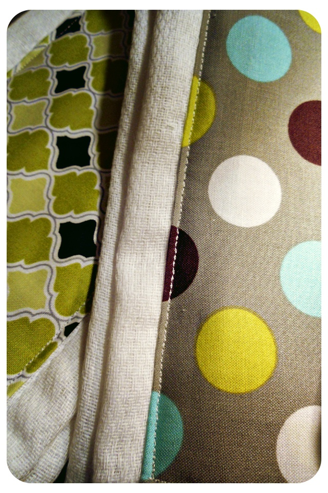 Burp Cloths for Jack & Harper   Easy Sewing Projects