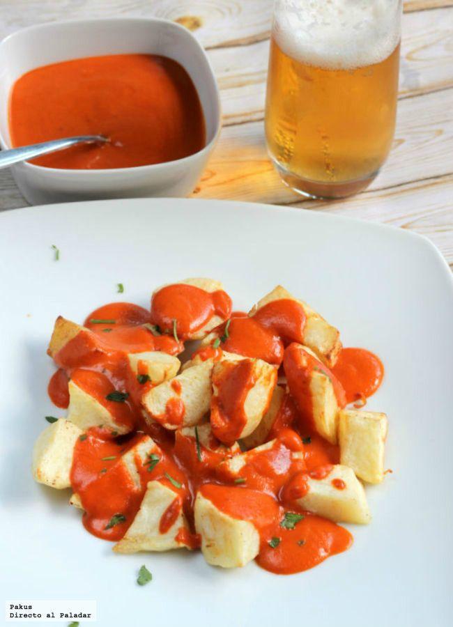 La receta definitiva de las patatas bravas (Directo Al Paladar)