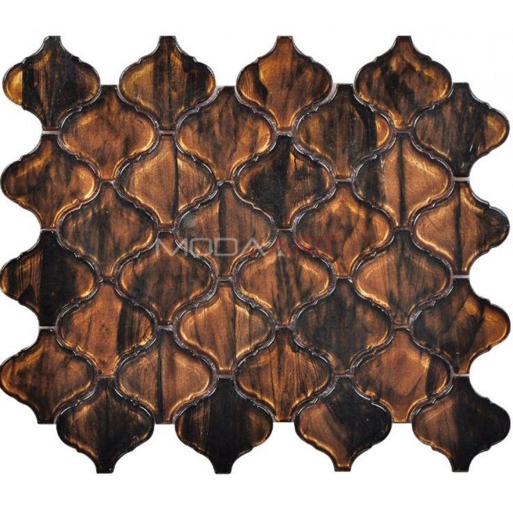 Doe Brown Modaarts Mosaic  Kristal Cam Mozaikler