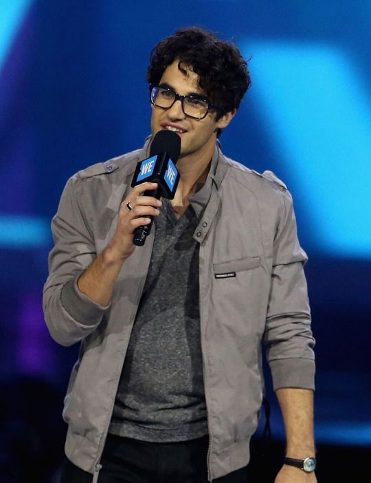 Actor, singer, songwriter and musician Darren Criss attends WE Day California 2016 at The Forum on April 7, 2016 in Inglewood, California.