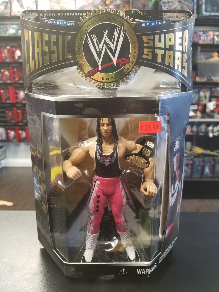 WWE Classic Super Stars Bret Hitman Hart