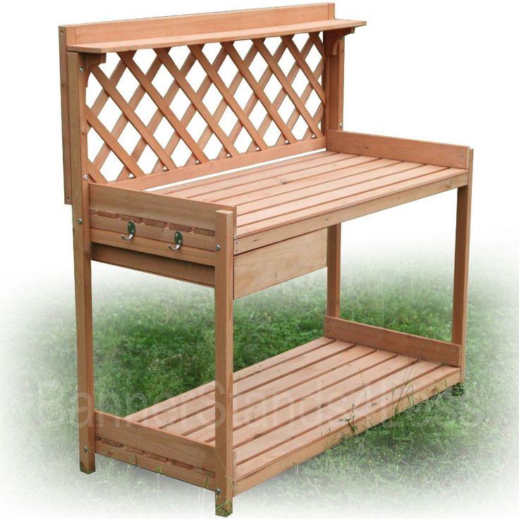"""Houtsoorten planter oppotten bench outdoor tuin aanplant in nieuwe houten tuin planter potten bankje massief dennenhout constructie lade voor opslag 45"""" h x van patio banken op AliExpress.com   Alibaba Groep"""