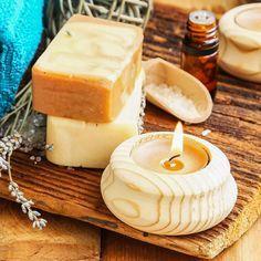 Seife herstellen - Seifen-Rezept: Akne Seife mit Heilerde selber machen