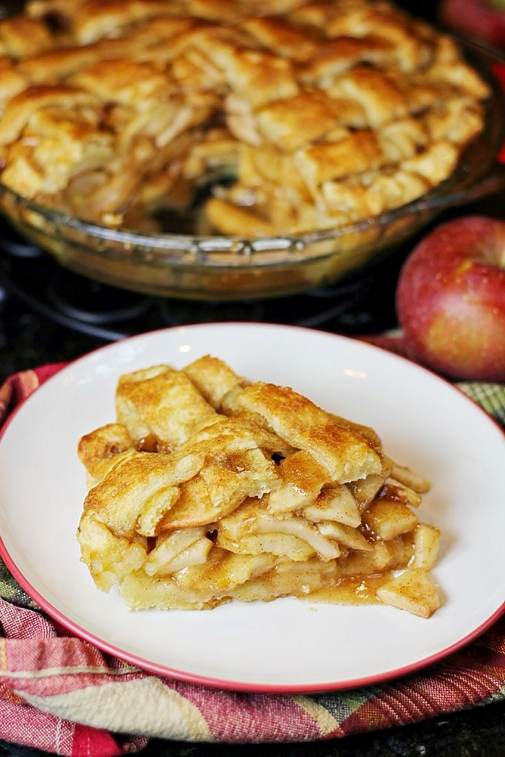 The best apple pie ever. Seriously. This is the recipe I will make over and over again!