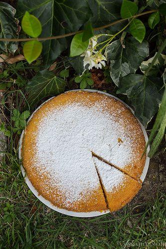 Torta di farina di mais - Polenta cake