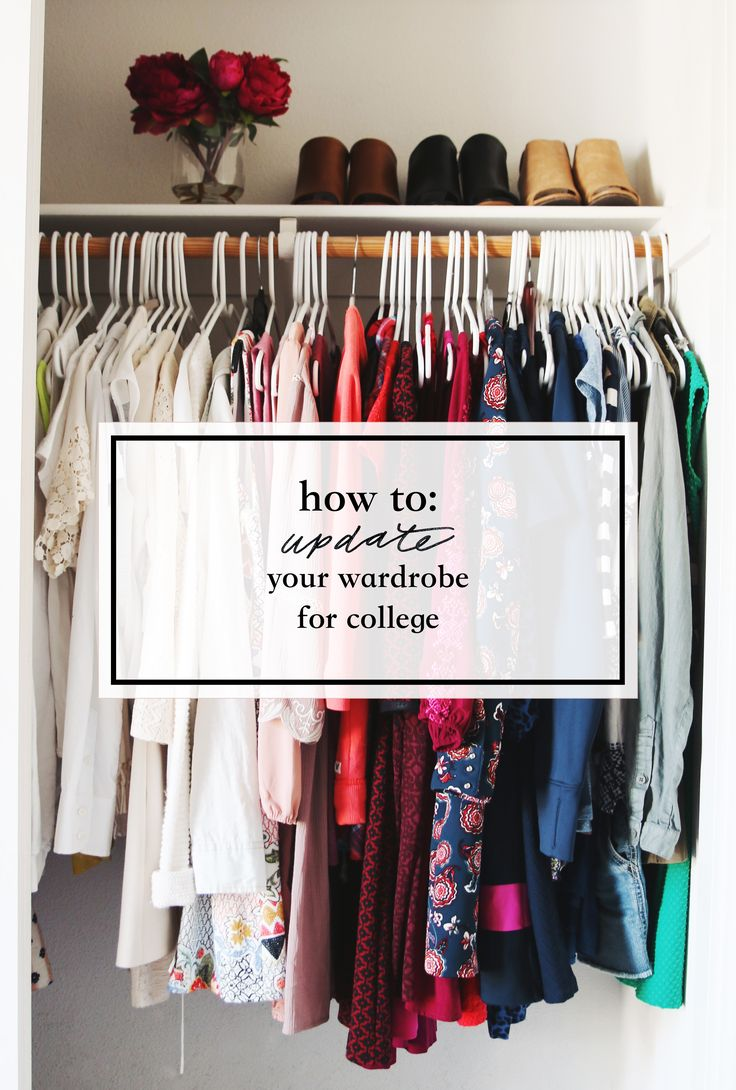 How to Update Your Wardrobe for College ~ we ❤ this! moncheriprom.com #collegetips