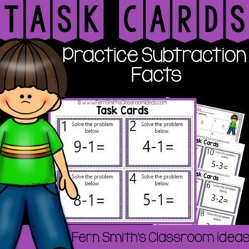 You will love how easy it is to prepare these math task cards for your small groups, centers, scoot, tutoring, scoot, read the room, Around the World, homework, seat work, so many ways to use these task cards that the possibilities are endless. Your students will enjoy the freedom of task cards while learning and reviewing important skills at the same time!
