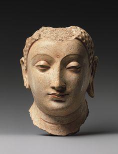 Head of Buddha [Afghanistan] (30.32.5) | Heilbrunn Timeline of Art History | The Metropolitan Museum of Art