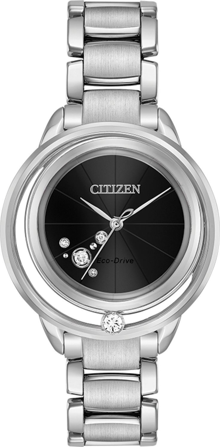 Citizen Eco-Drive Sunrise Solitare EW5520-50E