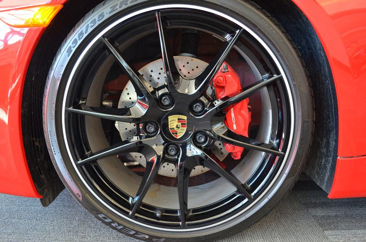 Porsche Rims Ottawa Autoshow