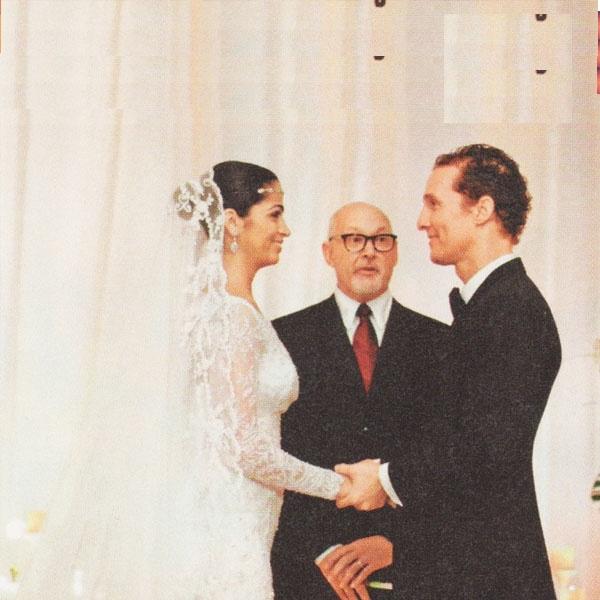 Matthew Mcconaughey Wedding: 17 Best Images About Celebrity Weddings On Pinterest