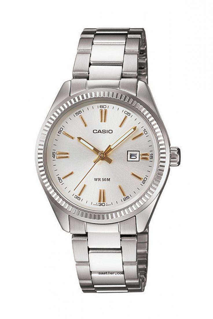 Casio Ltp-1302d-7a2vdf Kol Saati - https://www.saatler.com/casio-ltp-1302d-7a2vdf-kol-saati/ - #casio #saatler  Casio Ltp-1302d-7a2vdf Kol Saati gümüş renginde kasası aynı renkteki metal kayışı analog özelliği ile klasik tarzda modaya uygun bir kadın saattir. Aynı zamanda takvim özelliğine sahiptir. Suya dayanıklı olup su geçirmezlik özelliği 3ATMdir. Yani rahatlıkla ellerinizi yıkayabilir. Cam özelliği mineraldir çizilmeye dayanıklı olmasına karşın çizilmez diyeceğimiz bir cam değildir…