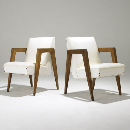 Russel Wright, Arm Chairs, 1950s.