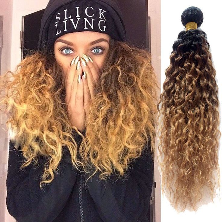 1263 best high quality human hair extension images on pinterest 100gbundle curly hair extensions 1b3327 ombre hair weaving real pmusecretfo Choice Image