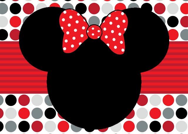 Imprimibles Minnie y Mickey