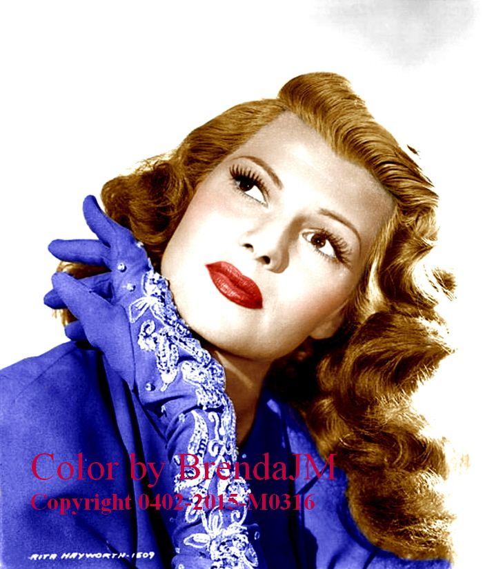 Color Pictures Of Rita Hayworth