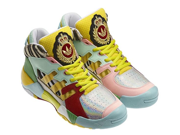 5e1b0d30be08 ... adidas Originals by Jeremy Scott ObyO JS Streetball Zebra (multimulti)  ...