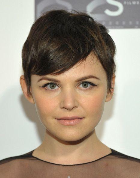 Maybe a cut like this?: Short Hair, Haircuts, Pixie Cuts, Hairstyles, Round Face, Hair Cut, Ginnifer Goodwin, Hair Style