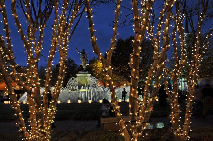 LaGrange, #Georgia lights up the night!