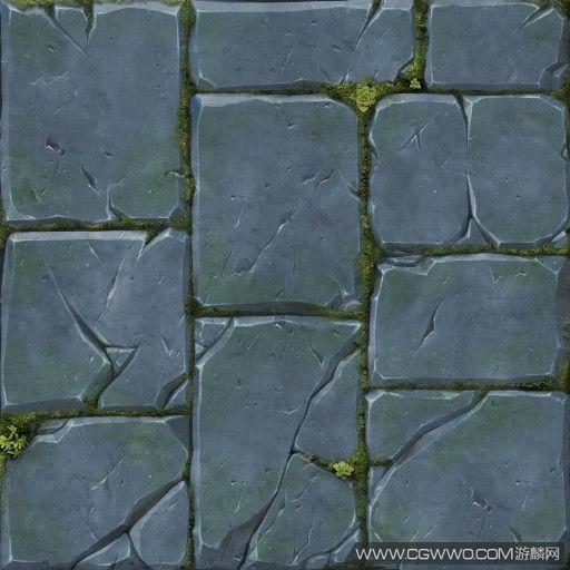 游戏绘制石墙贴图教程_原创图文教程区_C...@zPdml_Coco丶采集到石头(127图)_花瓣